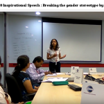 Inspirational CC10 Speech - Breaking the gender stereotype by Madhura Bhat
